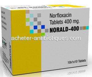 Acheter du Noroxin